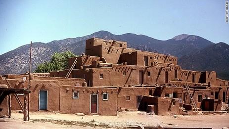 Дома индейцев племени Зуни. Хрущебы. Хрущевки.
